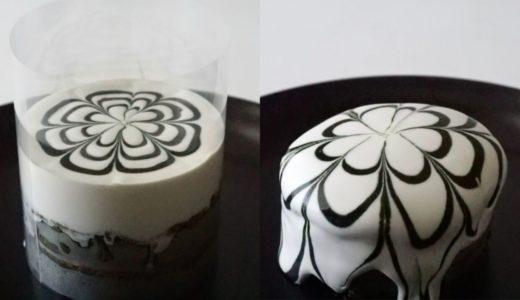 新千歳空港イシヤカフェパンケーキの作り方を抹茶バージョンで紹介。クリームが流れて模様が綺麗!!