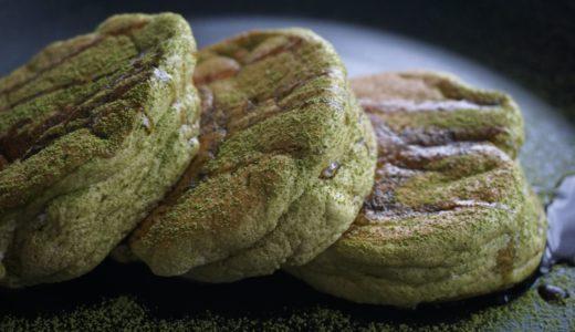 抹茶スフレパンケーキのレシピ。フライパンでふわふわをベーキングパウダーなしで作る!
